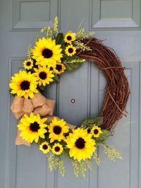 25+ best Summer door wreaths ideas on Pinterest   Diy ...