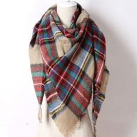 25+ best ideas about Plaid scarf on Pinterest