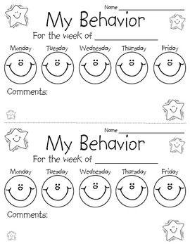 Best 25+ Individual Behavior Chart ideas on Pinterest
