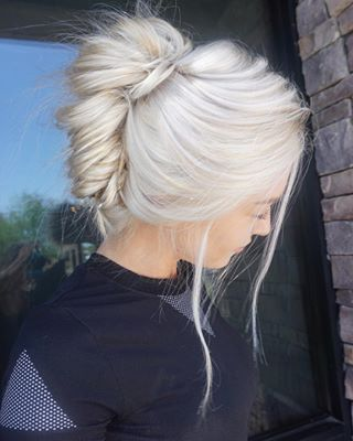 25 best ideas about white hair on pinterest loose curls short hair curled bob hairstyle and