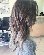 grey brown hair ideas
