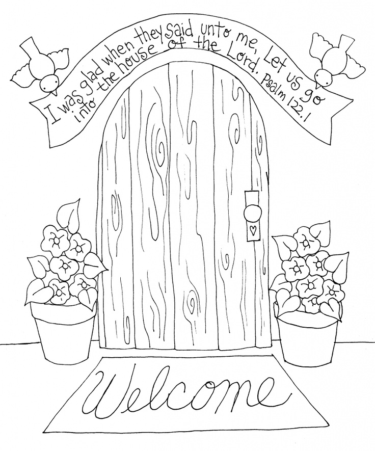 Poetry Pages Coloring Pages