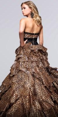 Leopard Print Prom Dresses from Tony Bowls | Animal Prints ...
