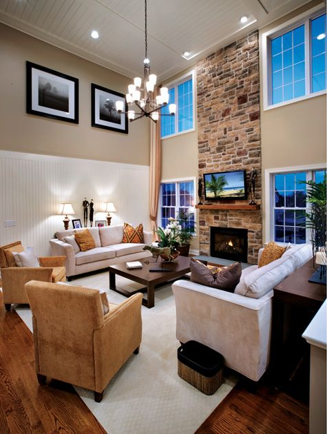 Toll Brothers 2 Story Family Room Interior Design Ideas Pinterest Paint Colors Brother