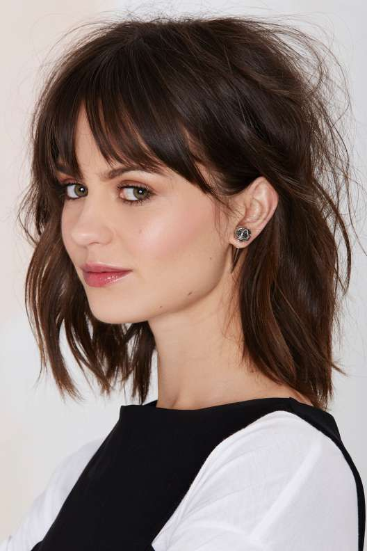 25 Best Ideas About Cute Bangs On Pinterest Fringe Bangs Soft