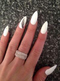 Best 25+ White almond nails ideas on Pinterest | Nude ...