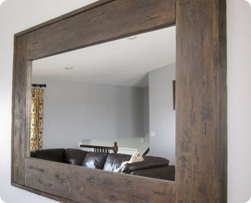 How To Build A Wood Frame Around Bathroom Mirror Young House Love