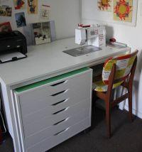 Sewing Machine Tables IKEA   Amy Gunson's Modified IKEA ...
