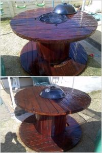 Best 20+ Cable Spool Tables ideas on Pinterest | Cable ...