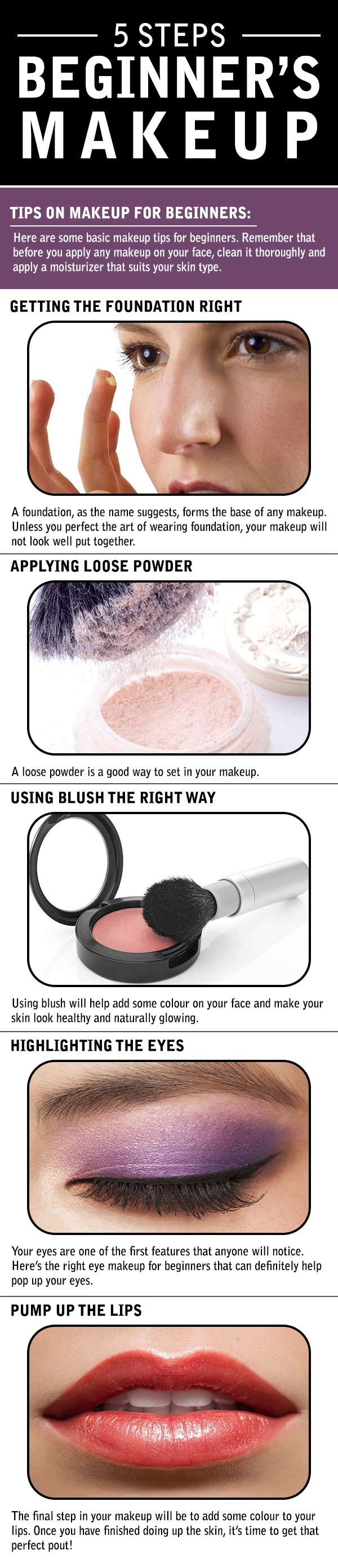 How To Apply Makeup Step By Step For Beginners How To Wiki 89