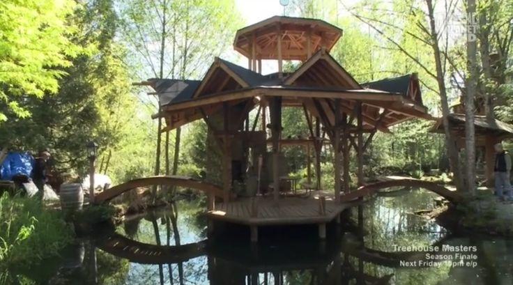 TREEHOUSE MASTERS  Treehouses  Pinterest  Backyards