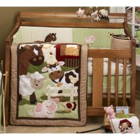 NoJo Farm Babies Crib Bedding