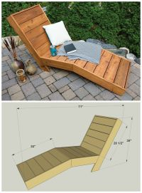 25+ best ideas about Pallet Chaise Lounges on Pinterest ...