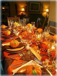Best 20+ Thanksgiving table settings ideas on Pinterest ...