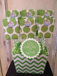 """custom """"burpee sweet pea"""" seed packet baby shower favor ..."""