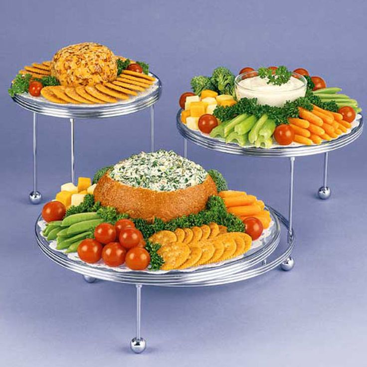 Use The Cakes N More 3 Tiered Party Stand To Create An Appetizing Display At Your Next Party
