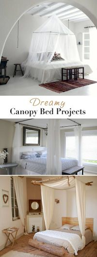 Best 25+ Canopy bed curtains ideas on Pinterest | Bed ...