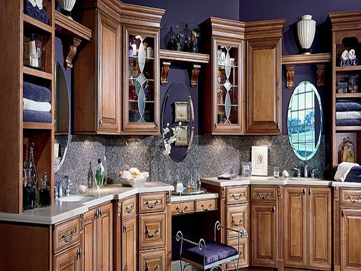 Coffee Glaze Thomasville Kitchen Cabinets Camden