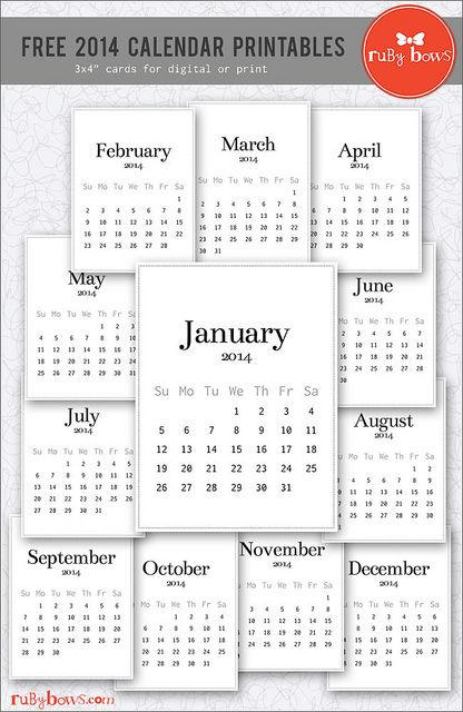 106 best images about Printable Calendars on Pinterest