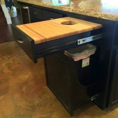 Tall Kitchen Garbage Can Contemporary Curtains 25+ Best Ideas About Trash Cabinet On Pinterest ...