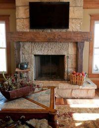 Best 20+ Rustic Fireplace Mantels ideas on Pinterest ...