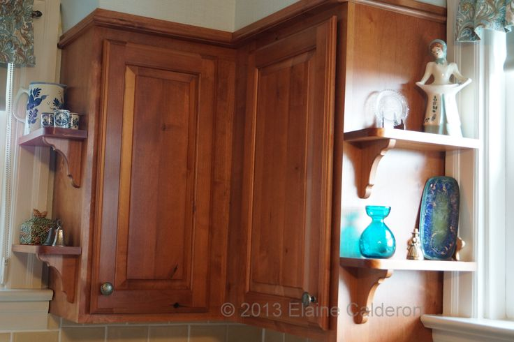 Medallion Designer Gold Cabinetry Briarwood Knotty Alder