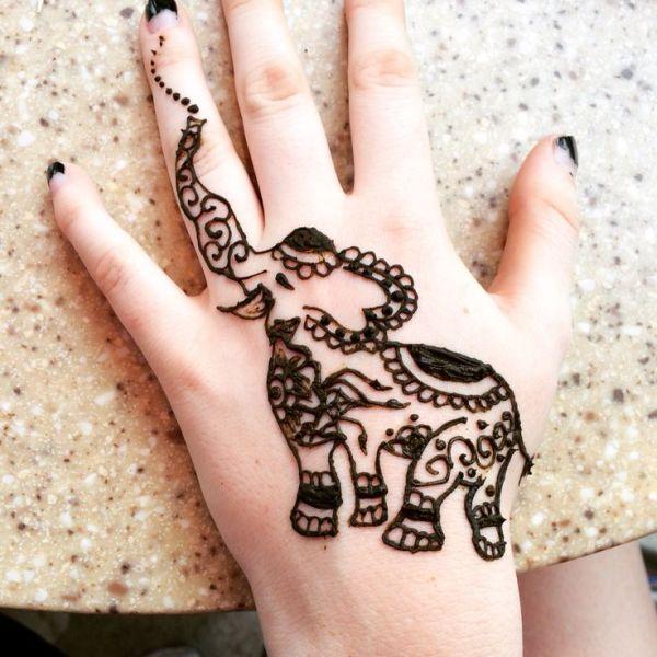 20 Small Simple Animal Henna Tattoos Ideas And Designs