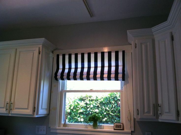 cheap kitchen curtains commercial ceiling tiles 17 best images about mini blind redo on pinterest | roman ...