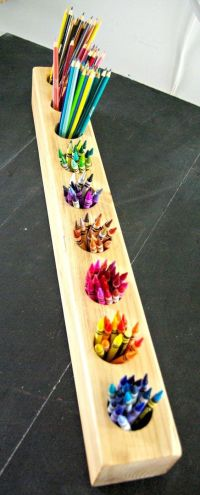 Best 25+ Crayon holder ideas on Pinterest