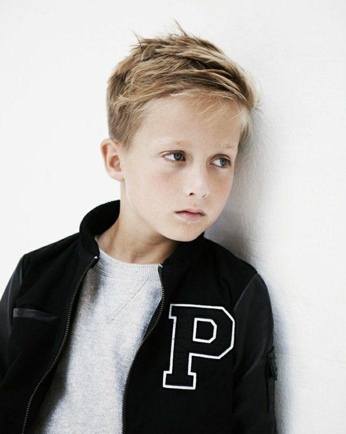 Die Besten 20 Frisuren Für Kleine Jungs Ideen Auf Pinterest