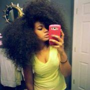 thick natural hair