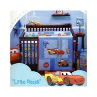 Baby Disney Cars 4 PC Crib Bedding Set Little Racer Boys