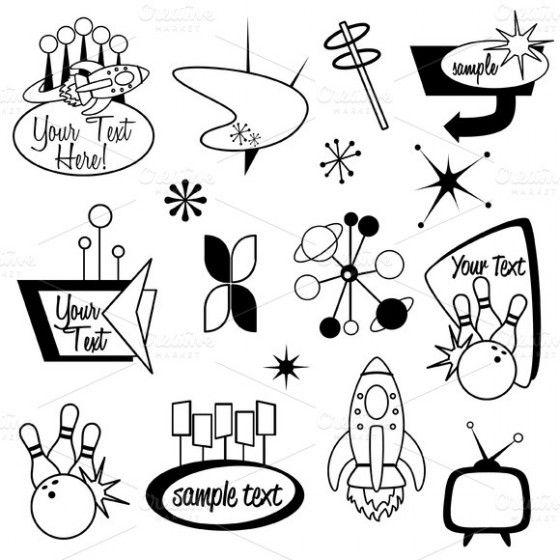 1000+ images about Vintage/Retro Graphics & Pattern Design