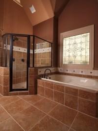 Big Shower and big bath tub!   A girl can dream ...