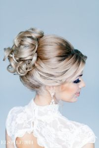 145 best images about Feminine Bridal Hair on Pinterest ...