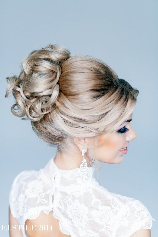145 best images about Feminine Bridal  Hair on Pinterest