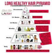 natural hair health chart