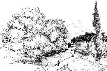 17 Best images about Landscape Drawings on Pinterest