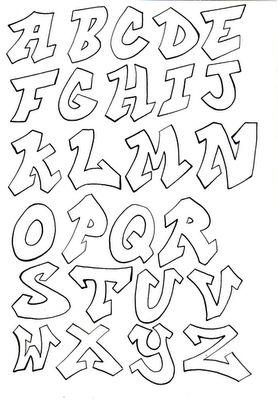 17 Best images about Graffiti alfabetten on Pinterest