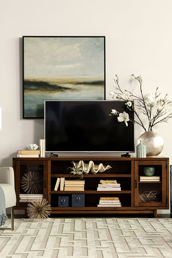 Best 25 Tv console decorating ideas on Pinterest