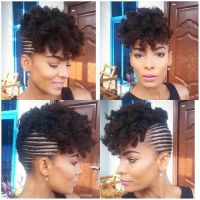 25+ best ideas about Cornrows updo on Pinterest