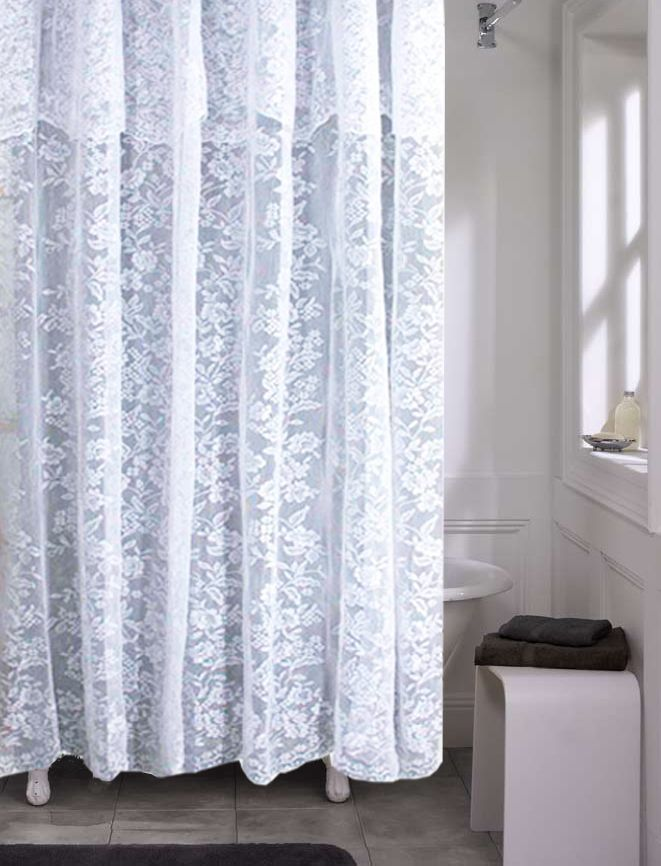1000 images about Neutral Shower Curtains for Every