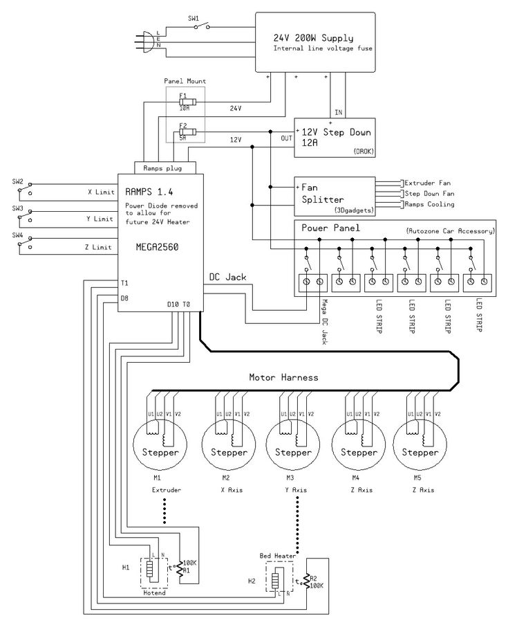 K40 Fuse Diagram - Auto Electrical Wiring Diagram K Laser Schematics Diagrams on