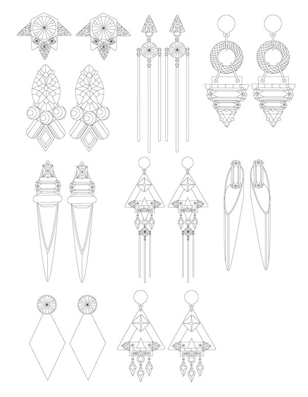 342 best images about Jewelry Design drawings on Pinterest