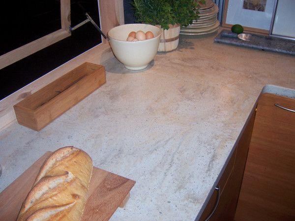 Corian Clamshell countertop detail  Corian Kitchens