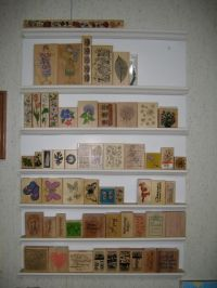 Rubber Stamp shelving - make your own | Indoor Wishes ...