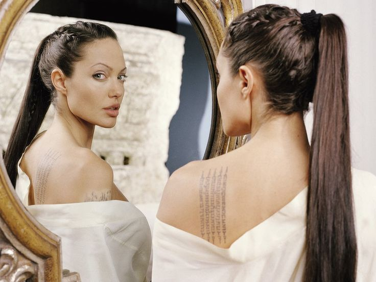 "Angelina Jolie As Lara Croft In ""Lara Croft Tomb Raider The"