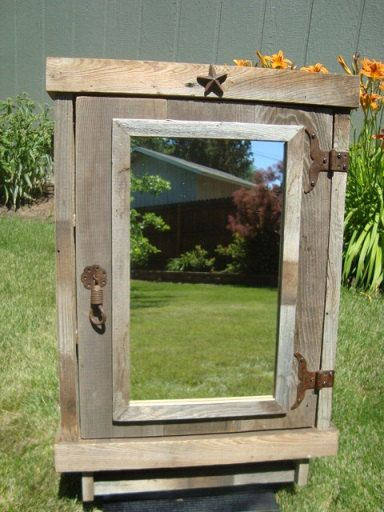 25 best ideas about Rustic medicine cabinets on Pinterest