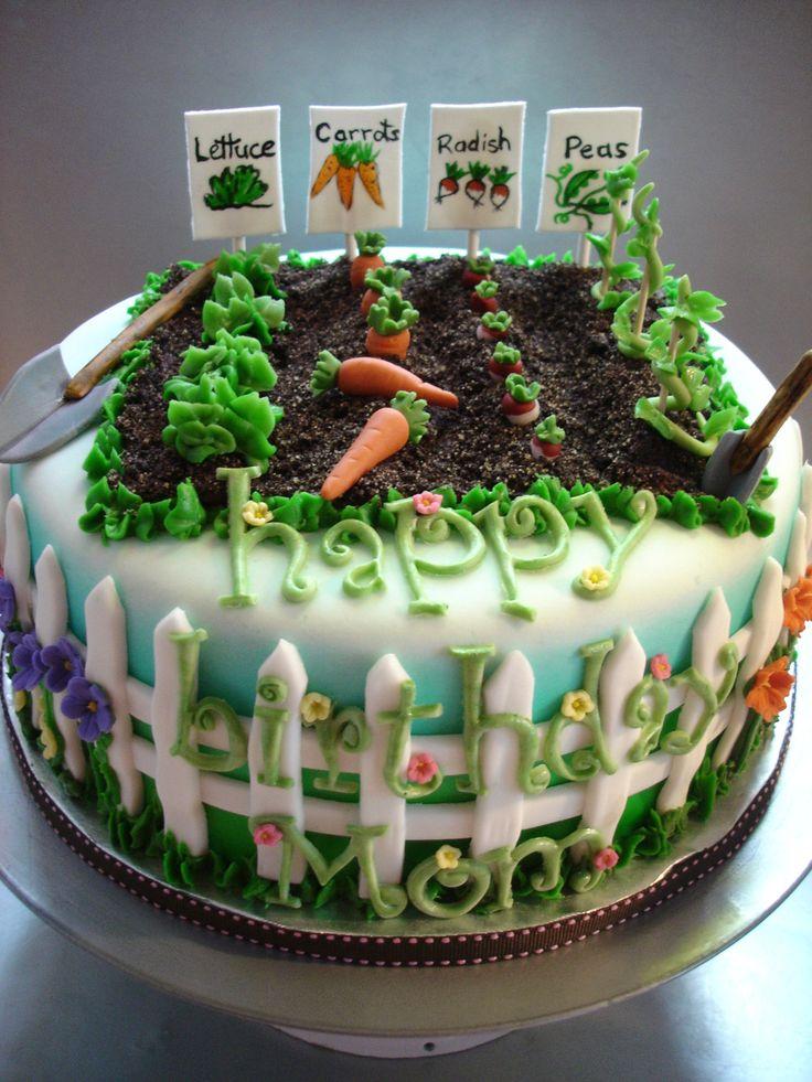 25 Best Ideas About Garden Cakes On Pinterest Garden Birthday