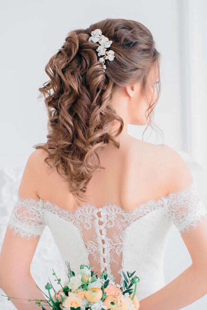 25 best ideas about Medium wedding hairstyles on Pinterest  Medium wedding hair Medium length
